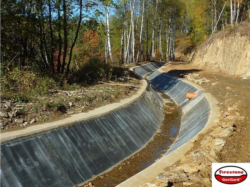 Ирригационные резервуары