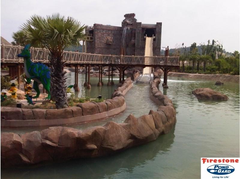 Водоемы в парках развлечений