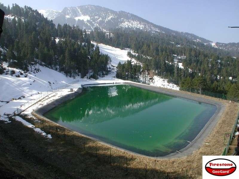 Резервуары для искусственного снега