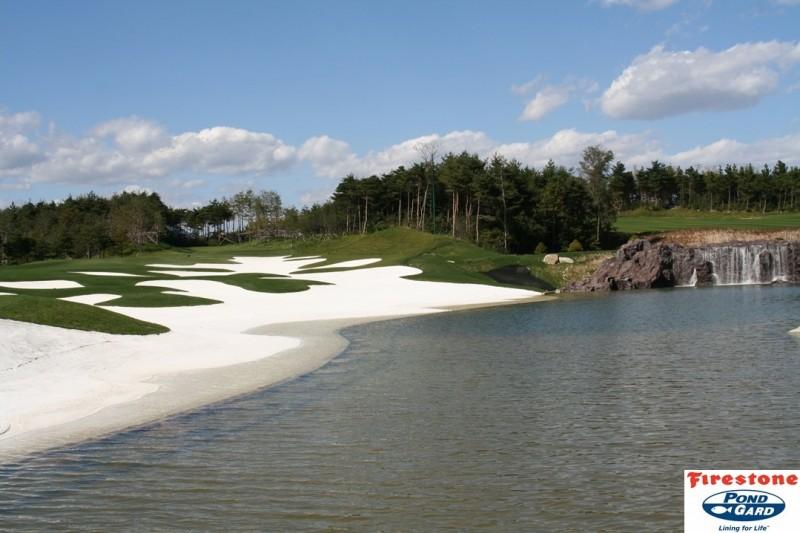 Водоёмы на полях для гольфа